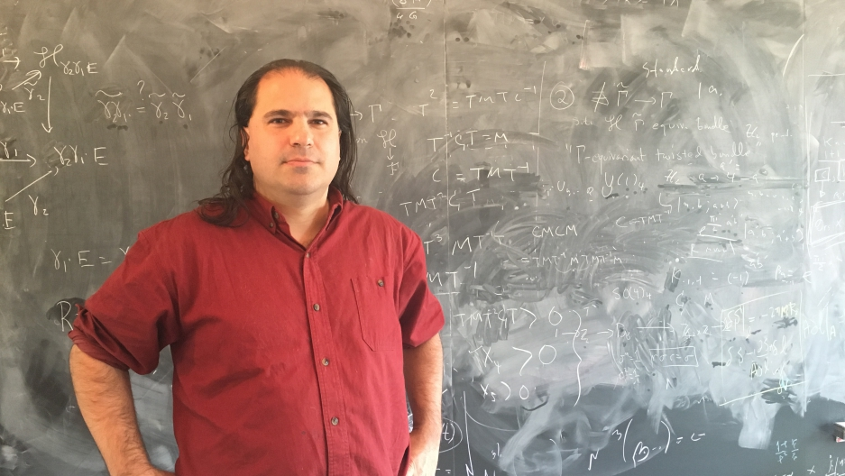 Physicist Nima Arkani-Hamed
